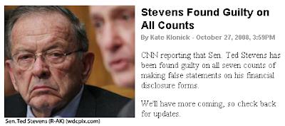 TPM: Stevens Guilty