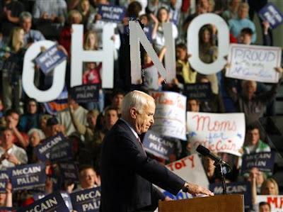McCain in Ohno?