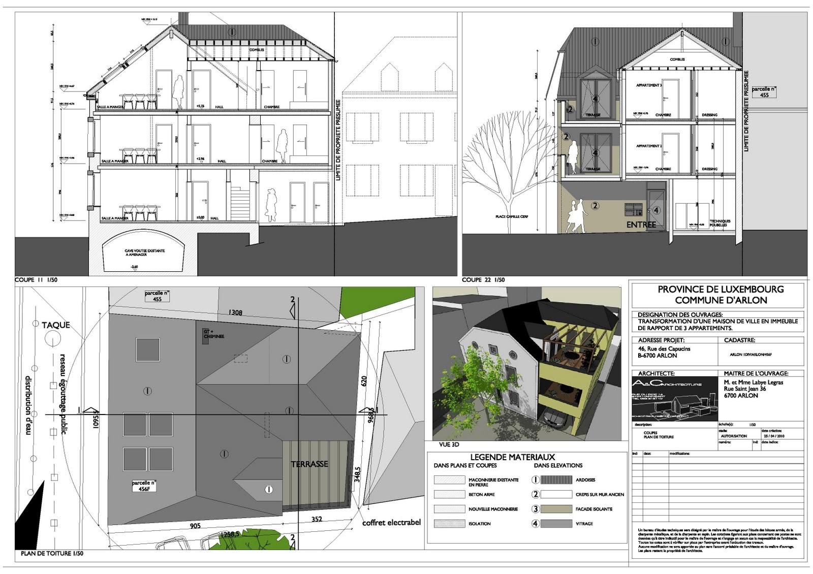 Ac Architecture Appartements Arlon