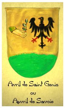 Avril de Saint Genis ou Apvril de Savoie
