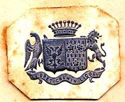 Patch RE emblema Style STEMMA ricamate Guardian CORONA preziose Giglio Re Giglio