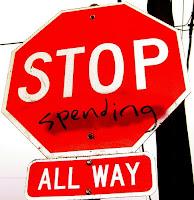 stop spending