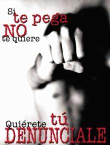 No a la violencia de género..