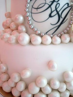 o peony wedding cake