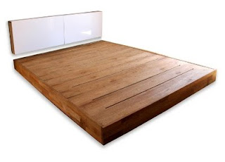 Simple Platform Bed With Storage