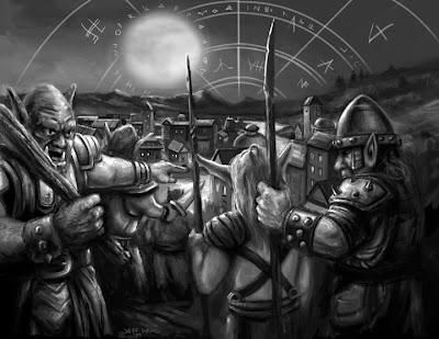 orcs fantasy art