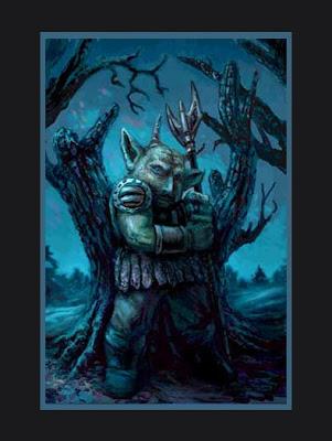 goblin fantasy art limited ed. print