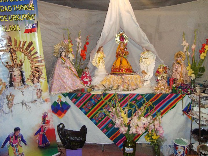 Decoracion De Altar De Virgen De Urkupi?a ~   ?Tinkus de Urkupi?a? Fiesta de la Virgen de Urkupi?a 2010