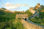 7. CHINA'S GREAT WALL