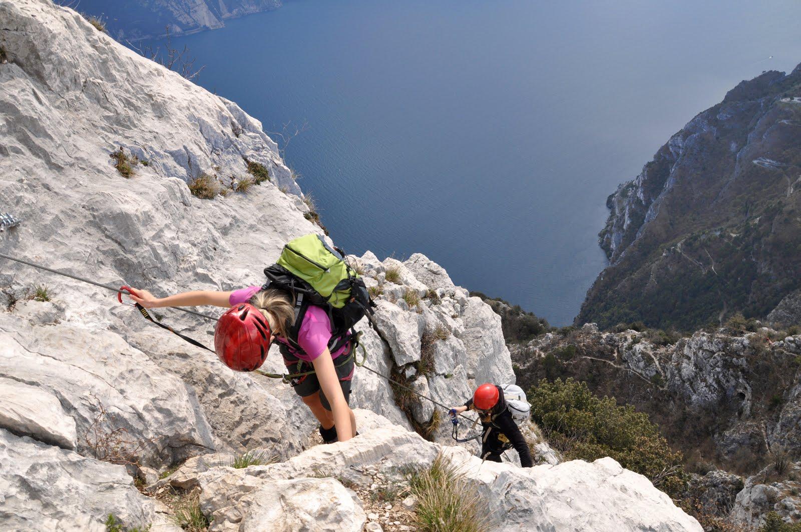 Klettersteig Cima Capi : Biwak: cima capi via ferr. fausto susatti