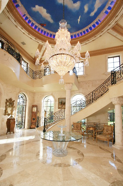 Beautiful curved staircases in florida luxury stairs gallery for Luxury staircase