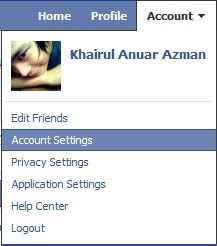 cara buang notification facebook email facebook