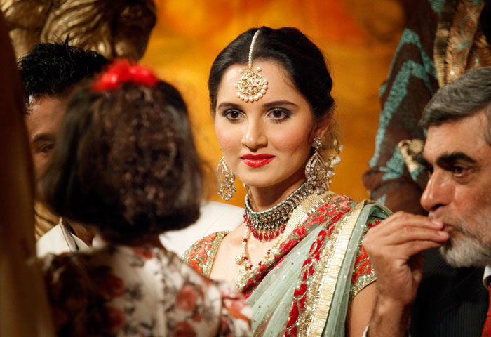 Sania Mirza - Shoaib Malik Reception in Pakistan still 7