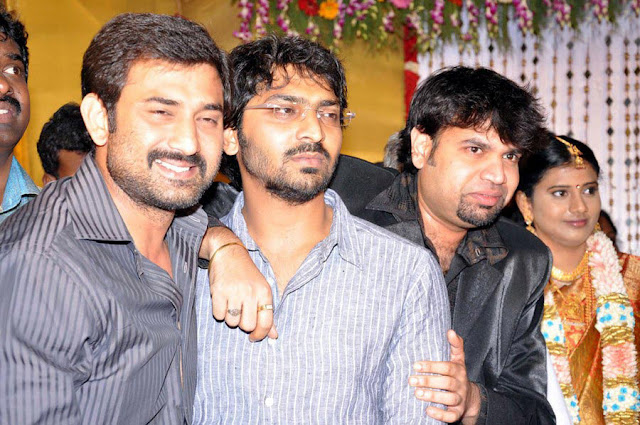 Vasanth Vijay wedding reception stills 6