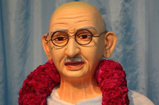 Mahatma Gandhi was instulted in Andhra pradesh