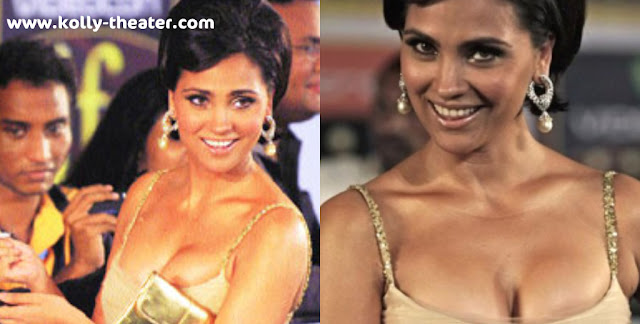 Lara Dutta's gown slips down at IIFA 2010 Function