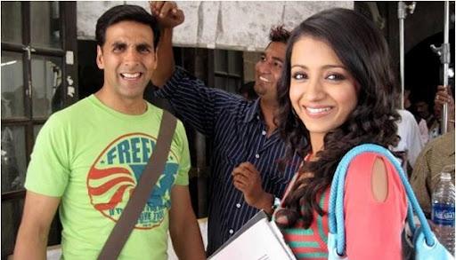 Trisha - My Hindi is better than Telugu