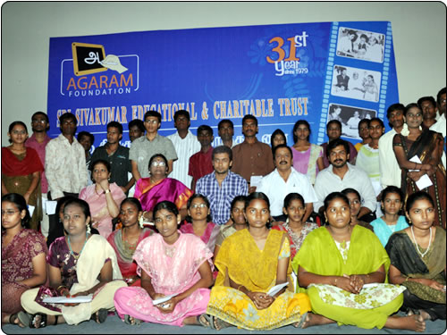 Surya helps Srilankan Tamil refugees