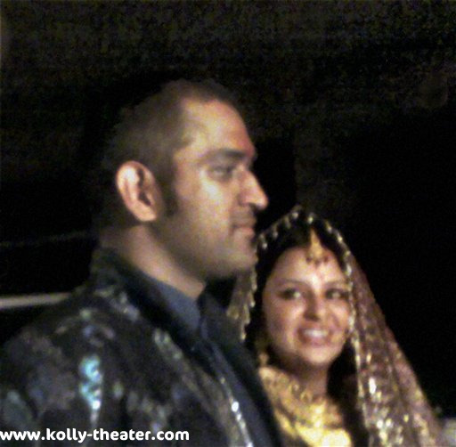 Dhoni Marriage Photos / Stills