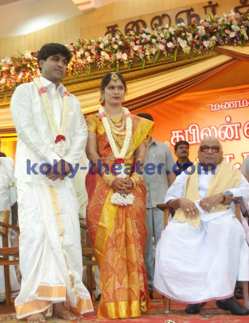 Vairamuthu's son Kabilan tie the knot with Ramya