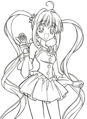 Pichi pichi pitch - Fille manga a dessiner ...