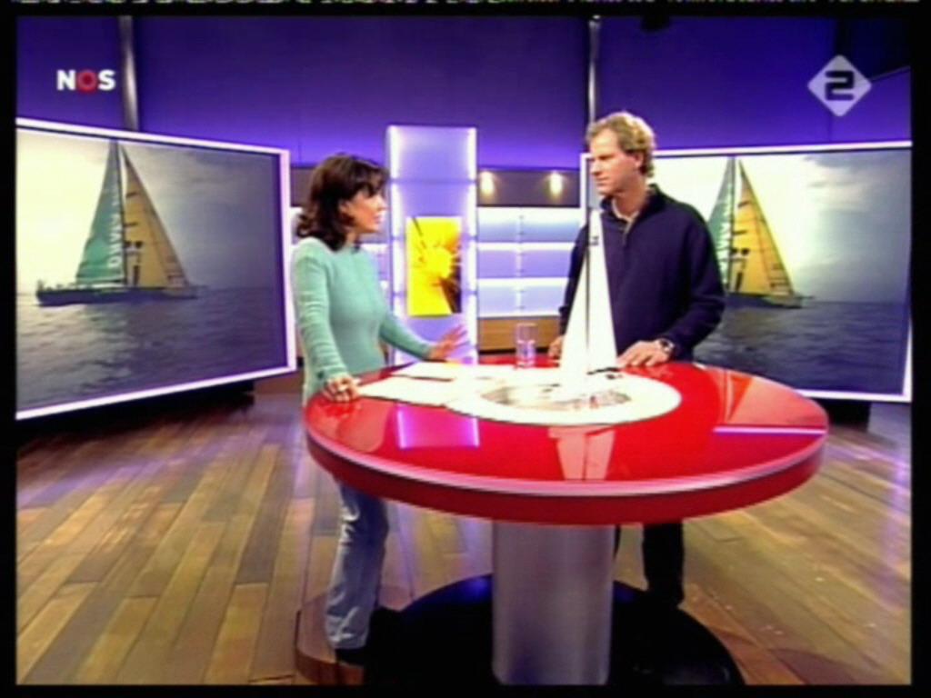 Dione de Graaff: Dione de Graaff 2-4-2006 NOS Studio Sport