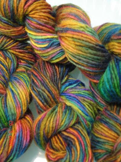 Os fios para tricô