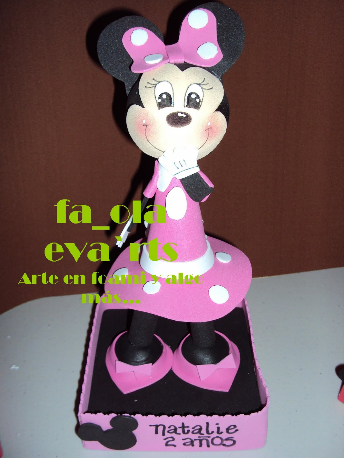 Fofucha Minnie Mouse