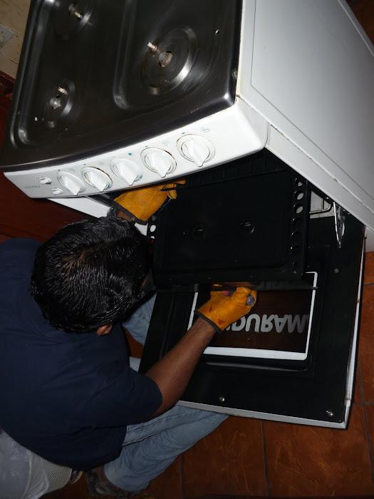 Mantenimiento de Horno de Cocina Doméstica