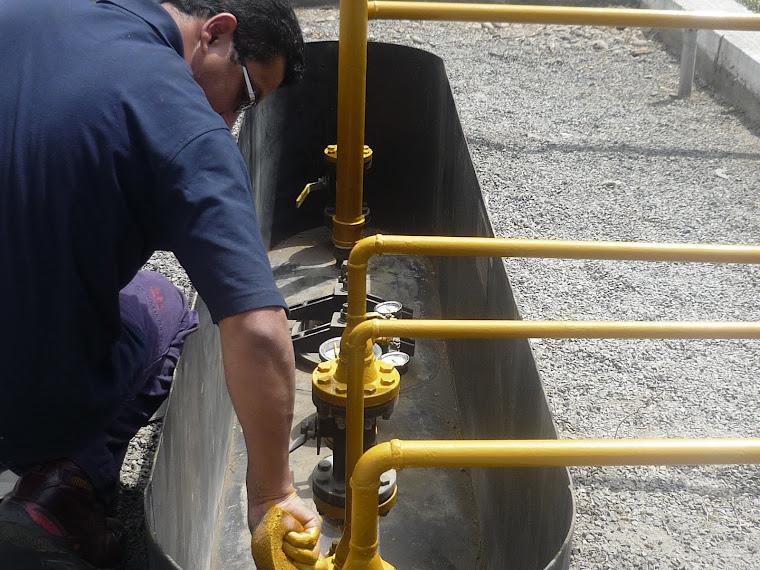 Mantenimiento de Lineas de Gas