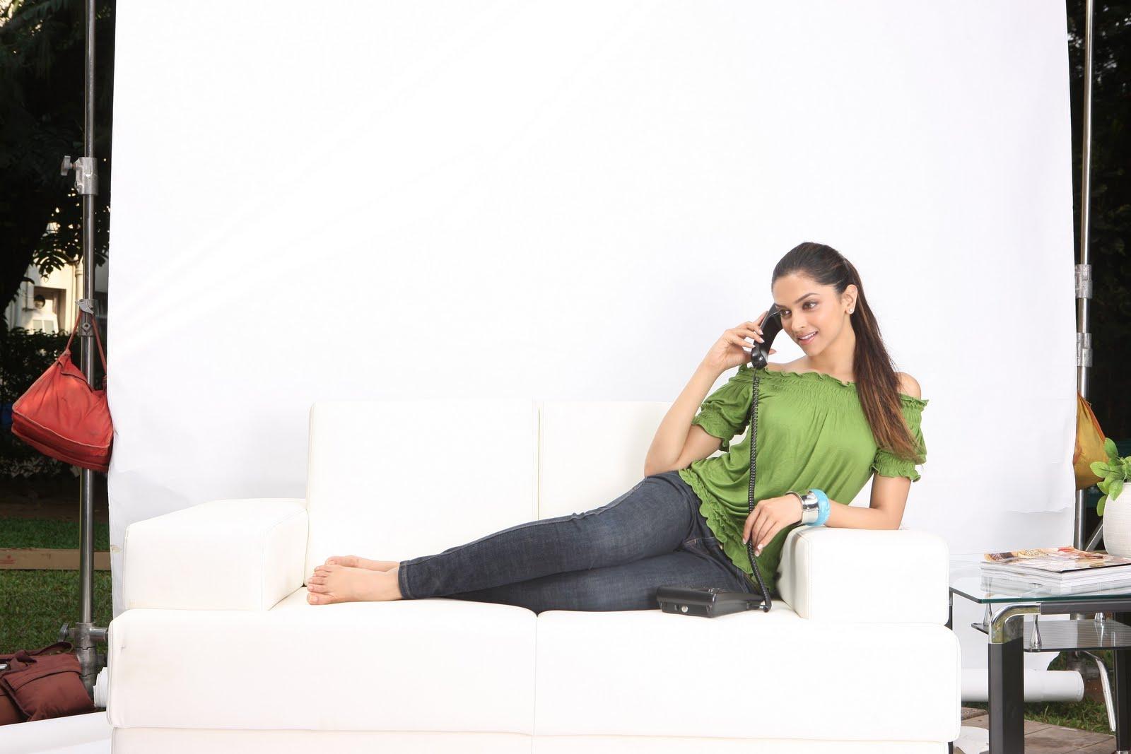 My Celebrity: Deepika Padukone Feet