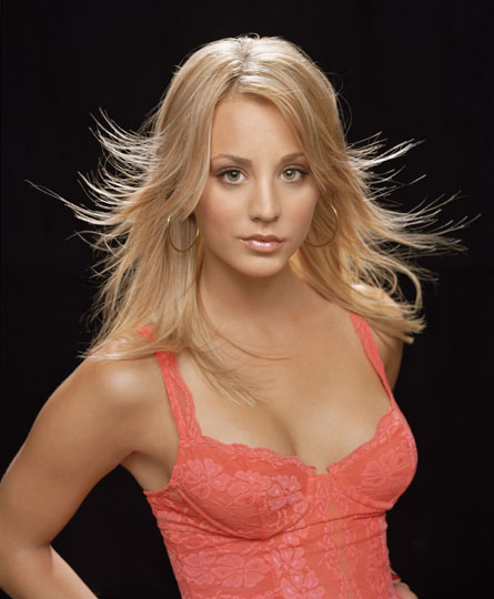 kaley cuoco the big bang theory