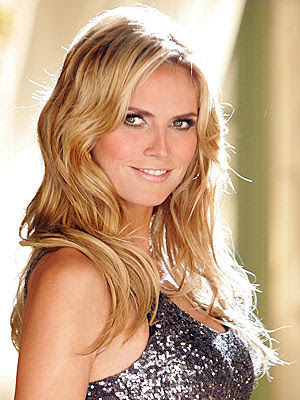 heidi klum hairstyles. Heidi Klum Height
