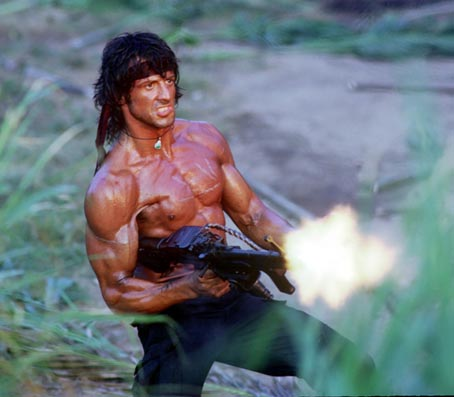 rambo shooting