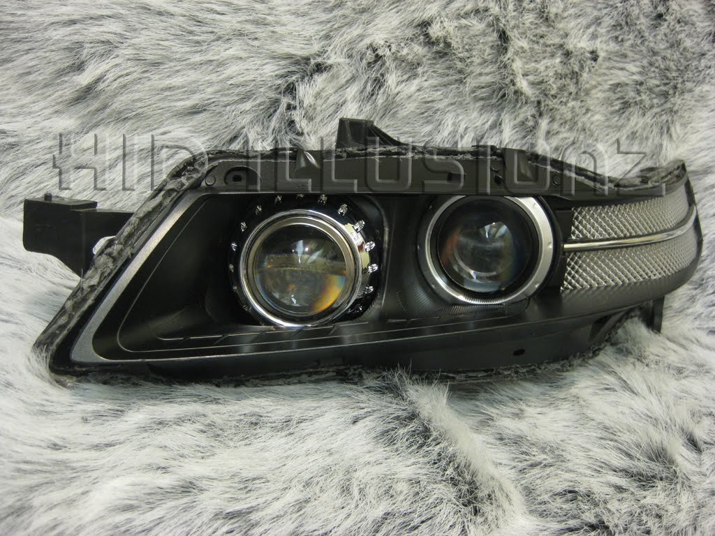HID ILLUSIONZ Acura TL TSX E Custom Reflectors Quad Setup HID - 2006 acura tl headlights