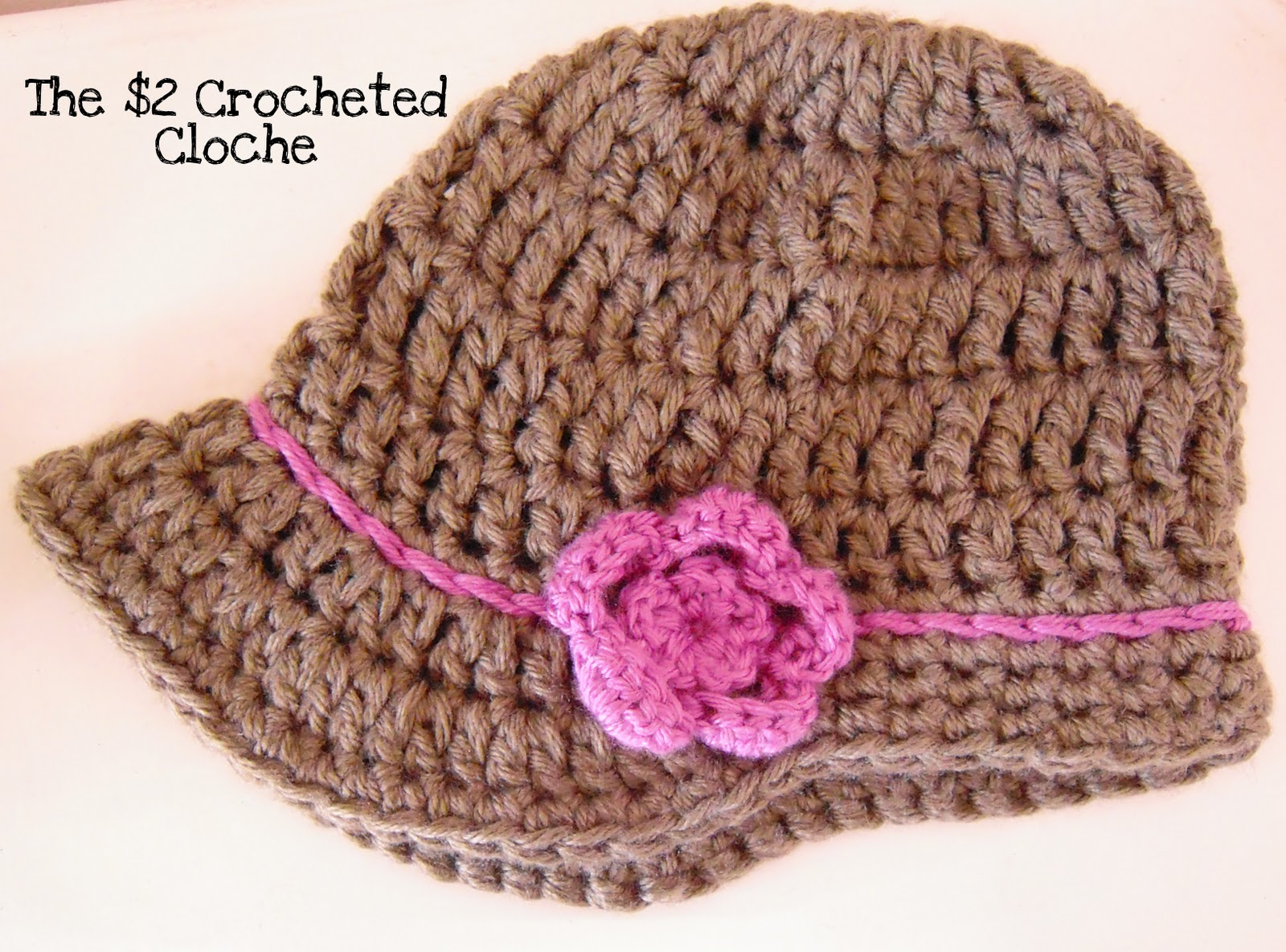 Maize Hutton: The $2 Crocheted Cloche~My First Hat Pattern!!!
