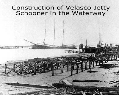 The History Of Old Velasco Surfside Texas Surfside