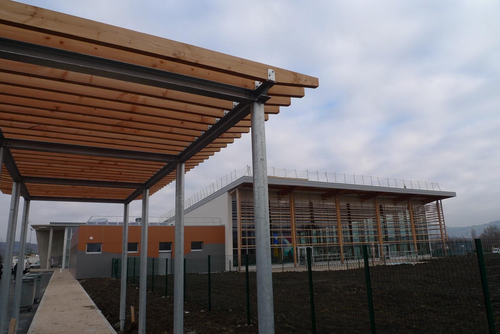 Visite de fin de chantier piscine de cournon 63 chm for Piscine de cournon
