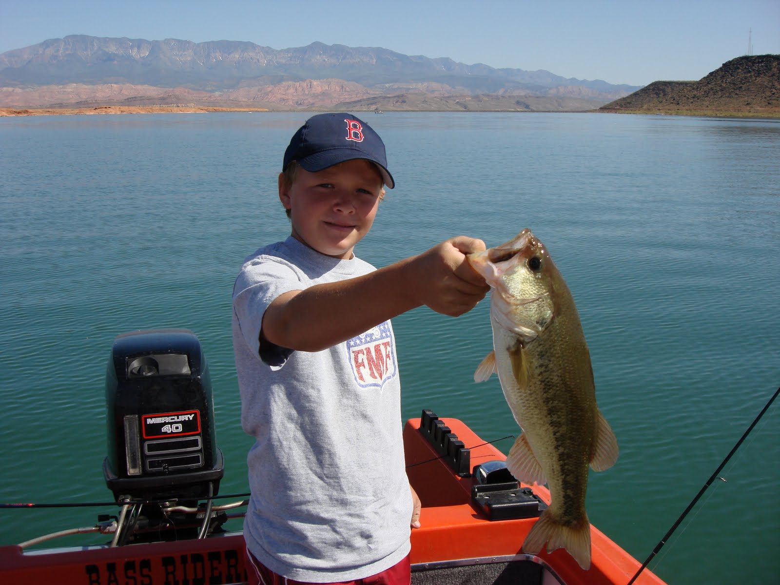 Bass riders association for Sand hollow fishing report
