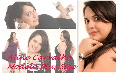 Aline Carvalho Modelo Plus Size