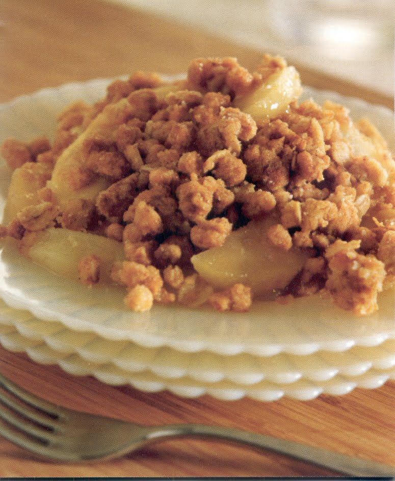 Spring NUs: Recipe: Coconut Apple Crisp