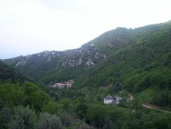 Athos valea Schitului Lacu Sf Dimitrie