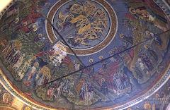 Pictura biserica MareaLavra ATHOS