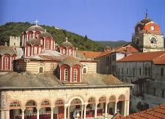 Manastirea ESFIGMENU  -  Sfantul Munte ATHOS