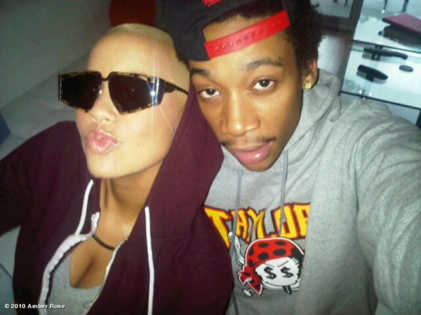 wiz khalifa tattoos on his back. wiz khalifa amber rose tattoo