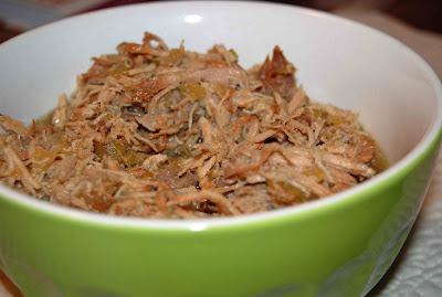Pineapple Green Chile Pulled Pork