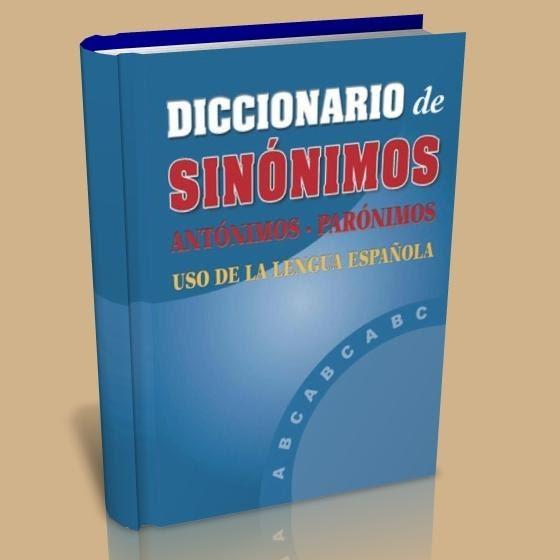 INFRAMUNDO: DICCIONARIO DE SINONIMOS Y ANTONIMOS - photo#36