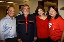 Carlos Martins, Lula, Dilma e Maria do Carmo.