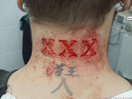 Tatuaje xxx straight edge