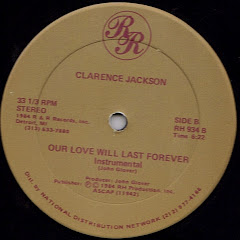 Clarence Jackson - our love will last forever 1984